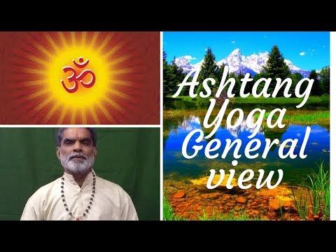 Yoga Teacher C B Tripathi- Session 3(Patanjali  Ashtang Yoga- general view)
