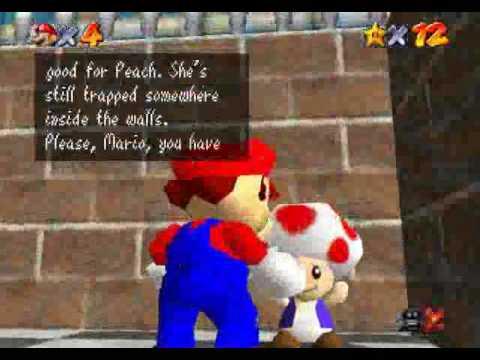 Super Mario 64 - 16 Star TAS