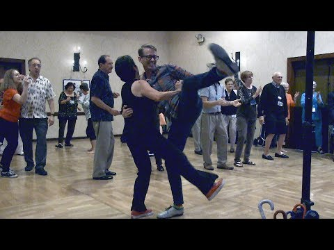 Dancing to WHOLE LOTTA SHAKIN' GOING ON; Dave Bennett and Trio at Arizona Classic Jazz Festival 2017
