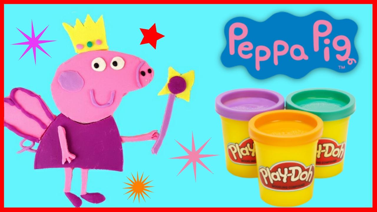 Peppa Wutz Deutsch Malen Play Doh Peppa Pig Knete DIY ...
