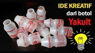 Ide kreatif Menakjubkan dari Botol Yakult bekas ! Best out of waste | reuse waste yakult bottle