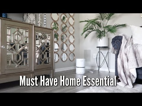 glam home levoit air purifier review youtube. Black Bedroom Furniture Sets. Home Design Ideas