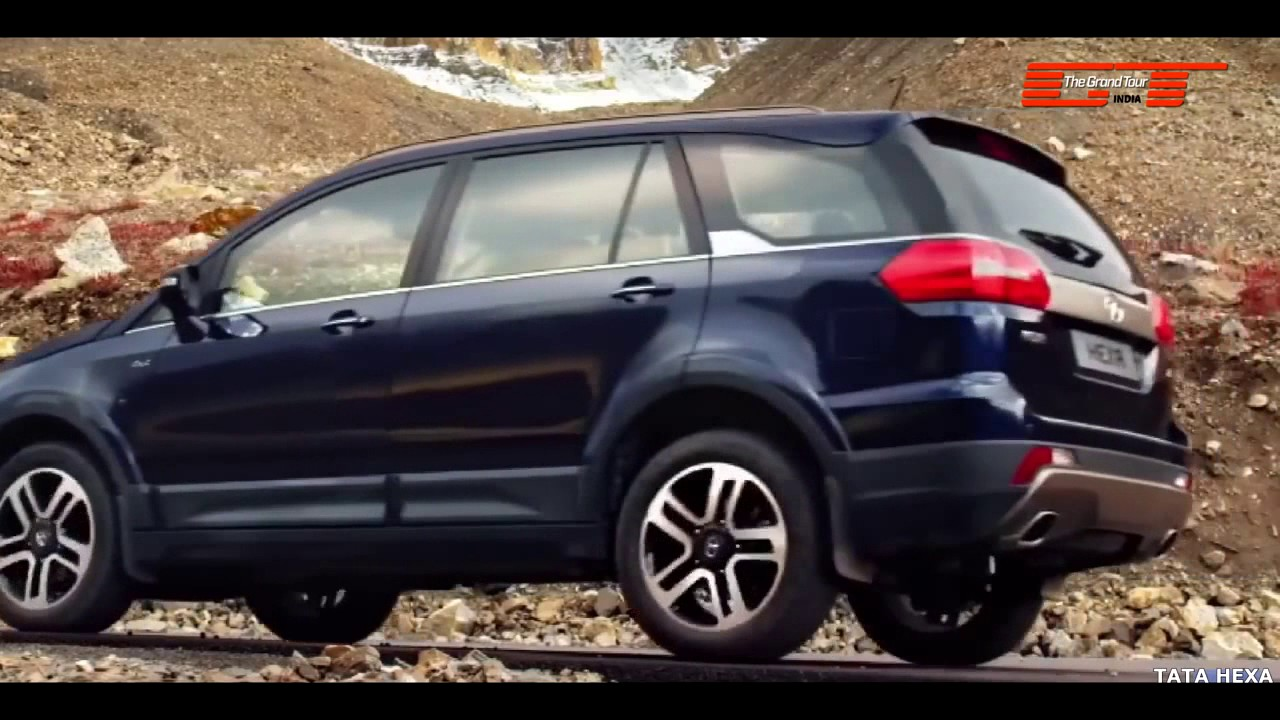 TATA Hexa - The Best SUV of the Year 2017 in India - YouTube