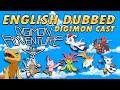 Digimon Adventure TRI - Digimon Cast English Dub Introduction (AjiPro)