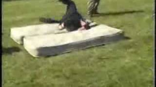 Kid Breaks His Neck After Attemping A Backflip