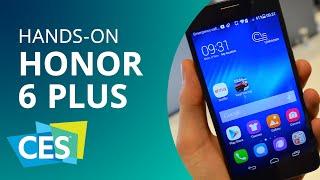 Huawei Honor 6 Plus: o smartphone com 3 câmeras da chinesa [Hands-on   CES 2015]