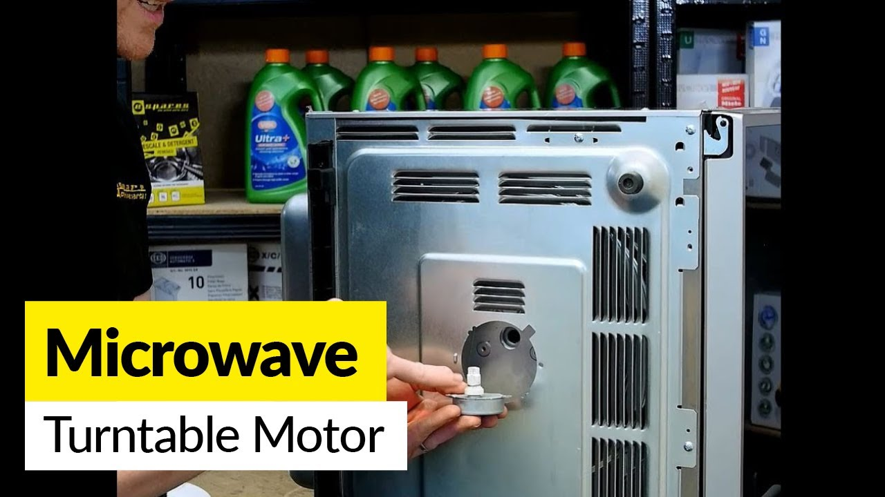 How To Replace A Microwave Oven Turntable Motor