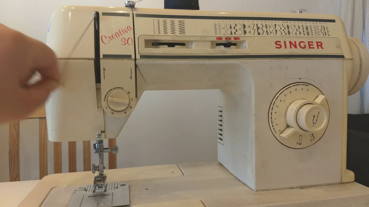 Cómo enhebrar máquina de coser Singer - YouTube