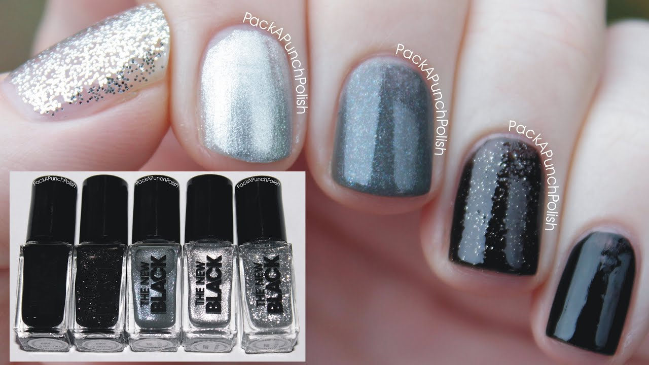 Graffiti Ombre Nail Set by The New Black - YouTube