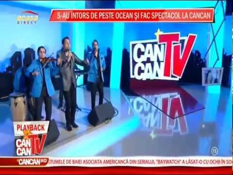 Jean de la Craiova - Iubeste-ma zi de zi ( Cancan Tv 02.04.2013 )