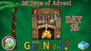 25 Days of Advent with GameNight! - Day 13