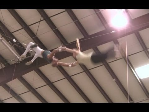 Flying Trapeze & Silks, Aerial Acrobatics, Circus Arts, Hand