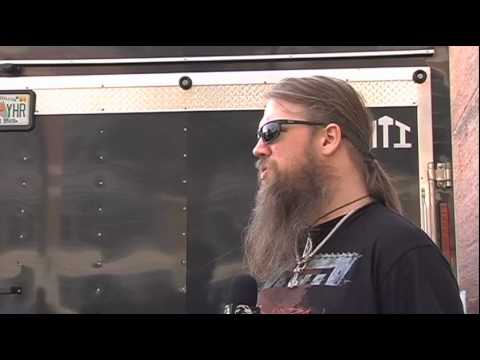 AMON AMARTH Interview with Johan at NEMHF on Metal Injection
