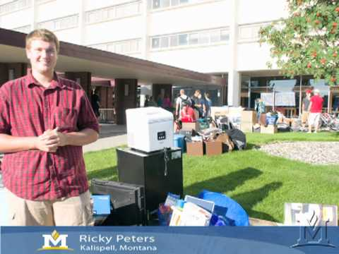 Move In Day at Montana State University