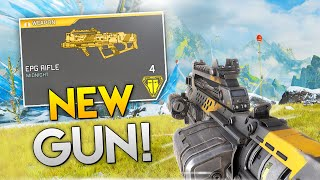 *LEAKED* GUN: EPG Grenade Launcher!! | Best Apex Legends Funny Moments and Gameplay - Ep. 286