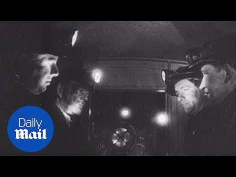 Incredible archive footage: Experience the 1960s mining industry - Daily Mail
