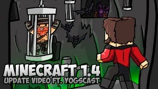 Minecraft 1.4 Halloween Update Video ft. The Yogscast