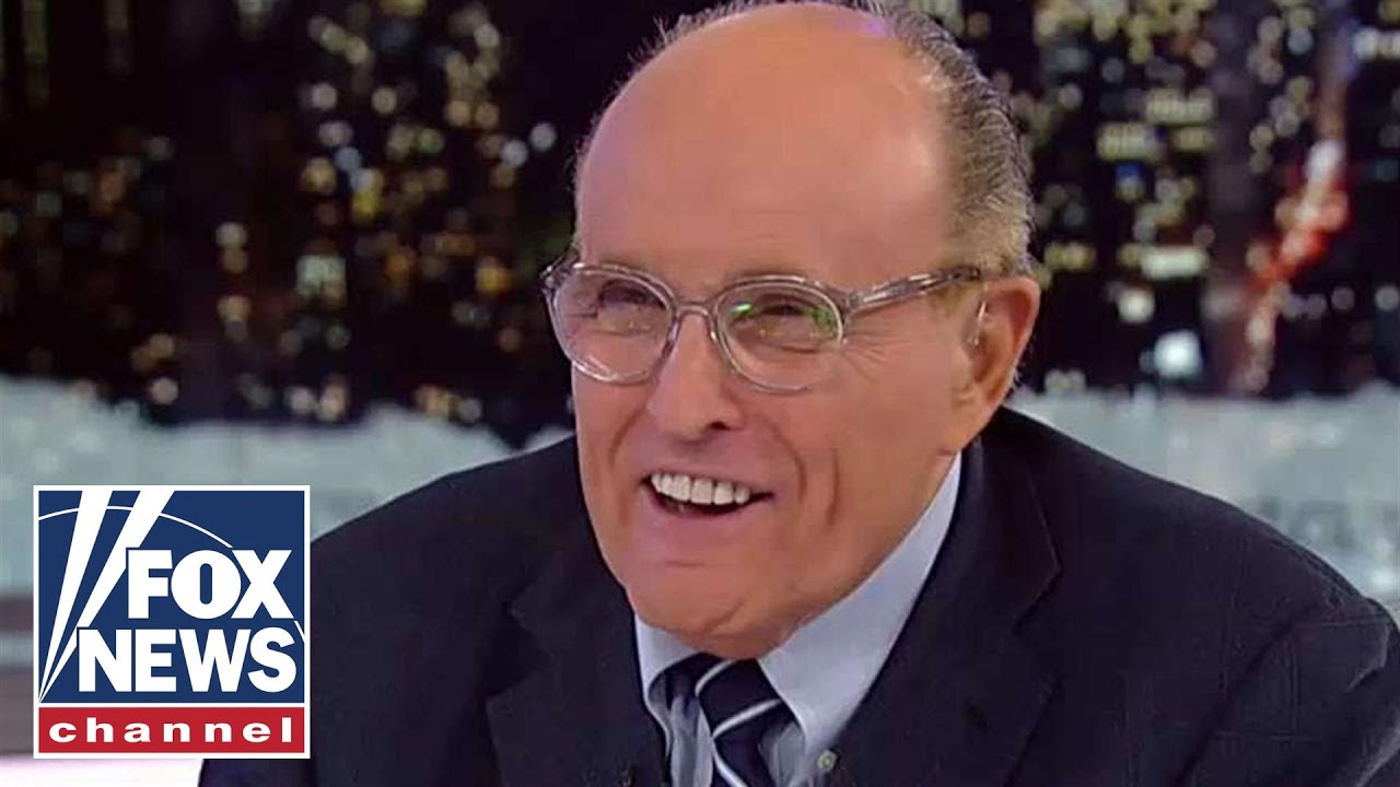 Rudy Giuliani's cough kept interrupting him while he tried to attack ...