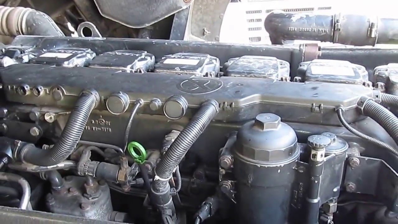 Man tga 460 engine running youtube for Add a motor d20