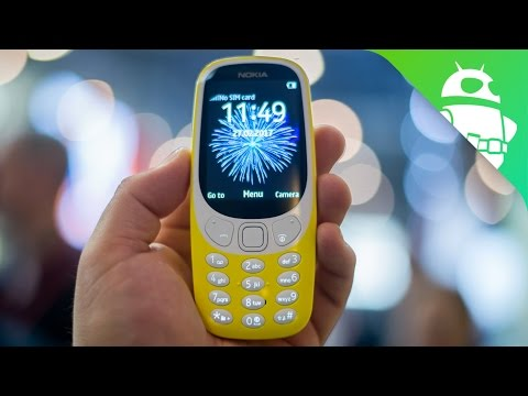 Thumbnail: Nokia 3310 Hands On