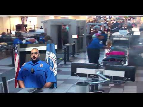 Paul - Brave TSA Agent At Savannah Airport