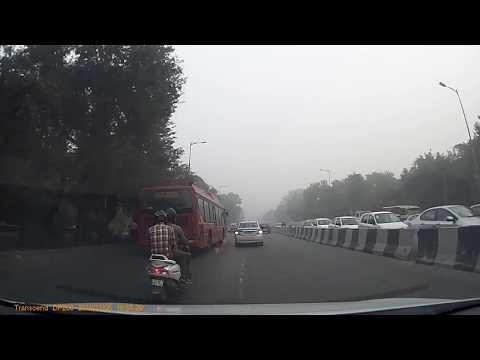 Visible Air Pollution In Delhi Post Diwali 2016