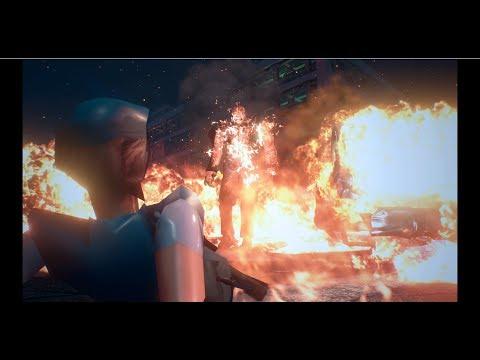 1999 Nemesis and Jill Valentine models in Resident Evil 3 Remake