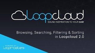 Loopcloud 20 Tutorial | Browsing Searching in Store Library View