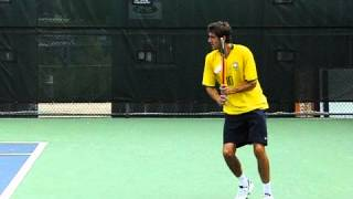 marin cilic forehand and backhand in slow motion