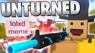 Unturned Funny Moments with Friends - KING OF UNTURNED!!! (Unturned Skits + RP)