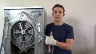 Как снять двигатель со стиральной машины BEKO.(В этом видео мы снимаем двигатель со стиральной машины BEKO. Двигатели с большинства стиральных машин таких..., 2015-06-05T14:20:57.000Z)
