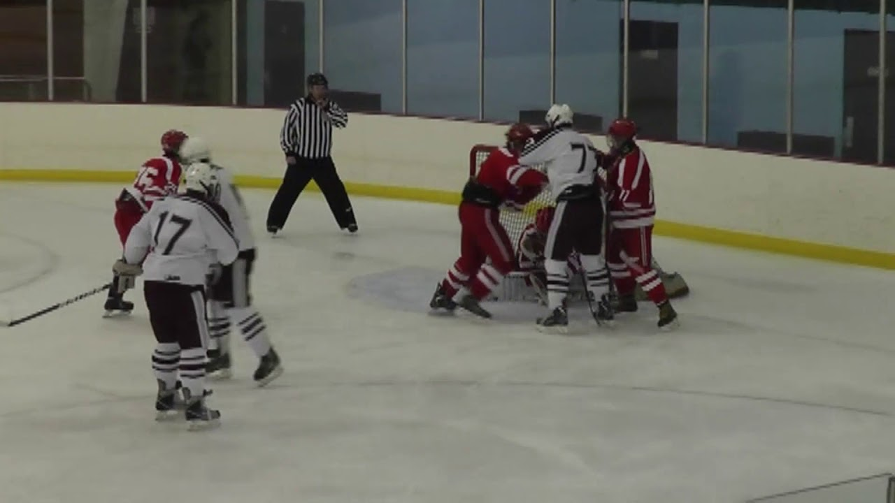 NCCS - Saranac Lake Hockey  1-26-13