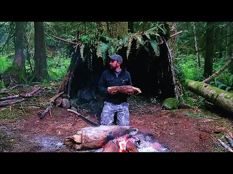 Solo Survival Vancouver Island: No Food, No Water, No Shelter