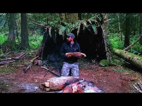 solo-survival-vancouver-island:-no-food,-no-water,-no-shelter