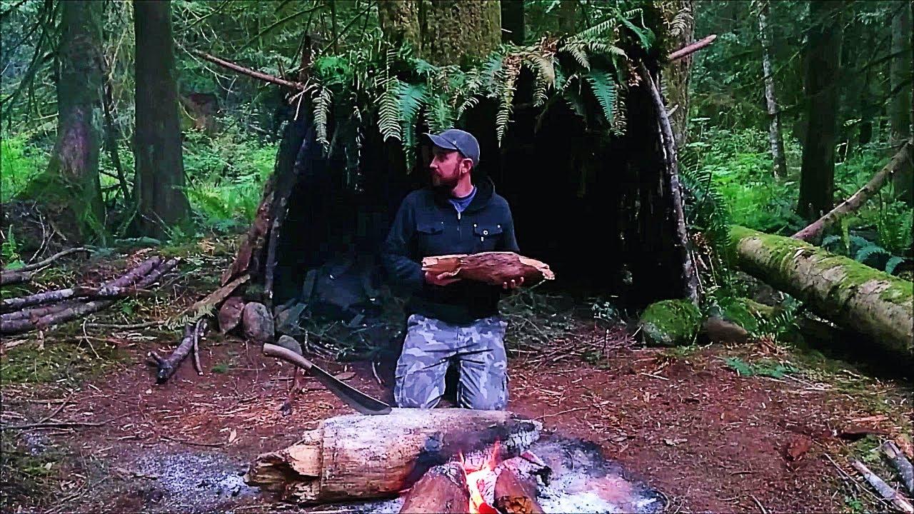 Solo Survival Vancouver Island: No Food, No Water, No Shelter