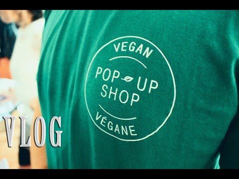 Vegan Pop Up Shop 🌱 VLOG