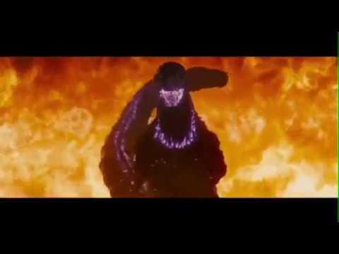 Shin Godzilla Atomic Breath Scenes