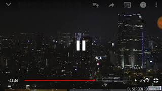 東京タワーライブカメラに映った謎の飛行物体
