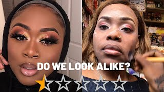 I WENT TO THE WORST RATED MAKEUP ARTIST IN NIGERIA