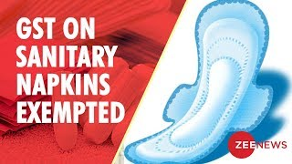 Sanitary Napkins Now Exempt From GST