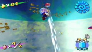 Super Mario Sunshine - Red Coins in a Bottle