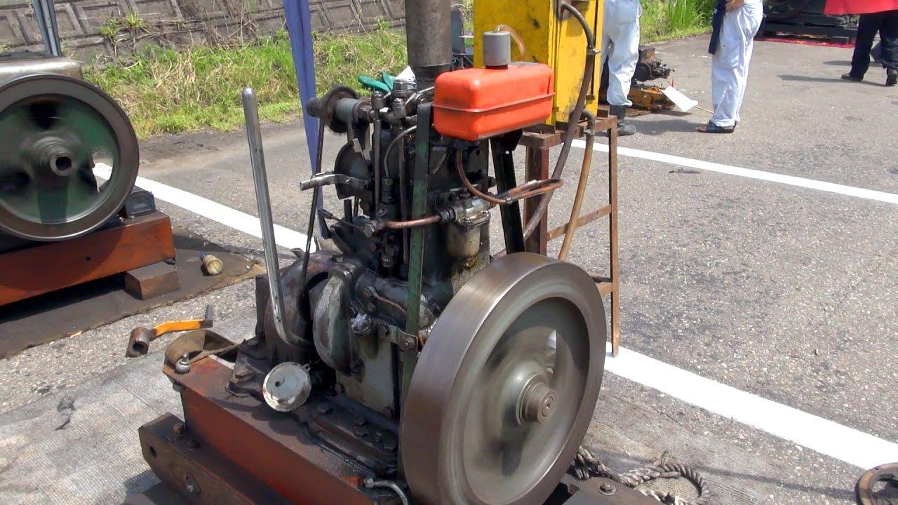 Old Engines in Japan 1960s YANMAR Diesel Type ST95A 6hp