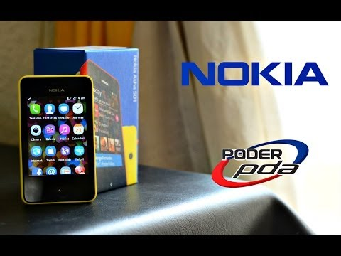 Nokia Asha 501 - Unboxing en Español HD