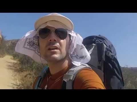 Backbone Trail Hike:Malibu-Topanga-SantaMonica Mountains-SoCal Backpack Hiker-Los Angeles,California