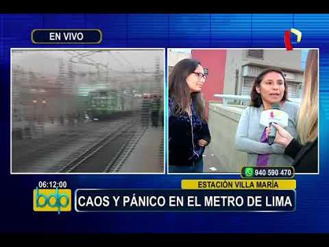 Atención pasajeros: cierran 10 estaciones del Metro de Lima