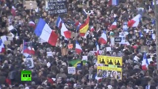 Unity March in Paris on January 11 (FULL VIDEO)