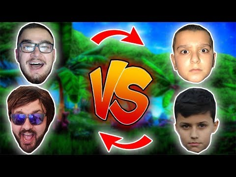 JUSUFI & HAMZA Vs GAFI & MECI - BOXFIGHT FORTNITE -