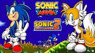 Sonic Advance 2 Mania Edition Mod [4K 60fps]