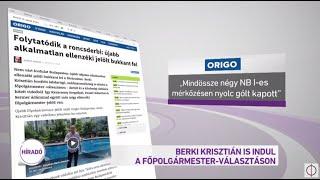 Berki Krisztián is indul a főpolgármesteri székért