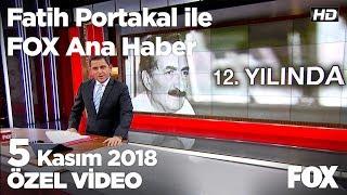 Bülent Ecevit'in 12. ölüm yıl dönümü... 5 Kasım 2018 Fatih Portakal ile FOX Ana Haber